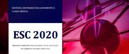 ESC 2020 - Highlights do congresso em formato PDF