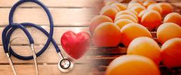 Consumo moderado de ovos não se associa ao risco de doença CV