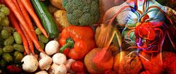 Dieta rica em vegetais e frutas e marcadores de lesão cardíaca