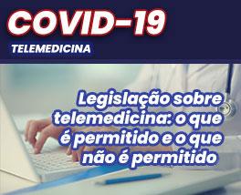 Pílulas de conhecimento: Legislação sobre telemedicina: o que é permitido e o que não é permitido.